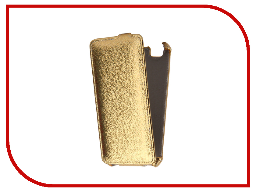 Аксессуар Чехол ZTE Blade A610 Zibelino Classico Gold ZCL-ZTE-A610-GLD
