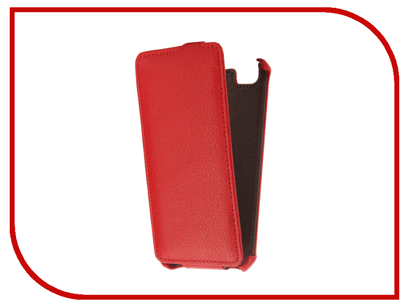 Аксессуар Чехол ZTE Blade A610 Zibelino Classico Red ZCL-ZTE-A610-RED<br>