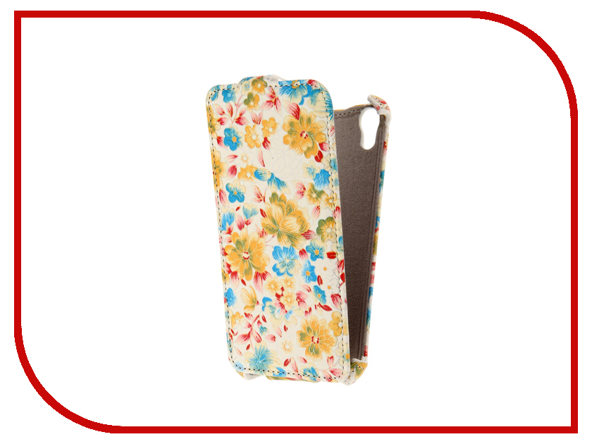 Аксессуар Чехол HTC Desire 626 Armor White Flower ARM-HTC626-WHT-FLW<br>