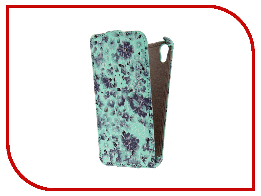Аксессуар Чехол HTC Desire 626 Armor Turquoise Flower ARM-HTC626-TQS-FLW<br>