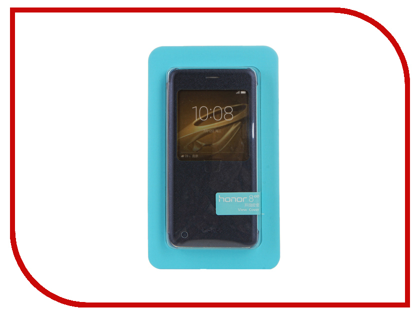 Аксессуар Чехол Huawei Honor 8 Smart Cover Dark Blue 51991684