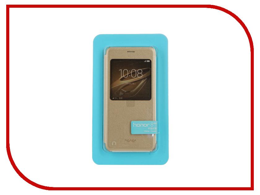Аксессуар Чехол Huawei Honor 8 Smart Cover Gold<br>