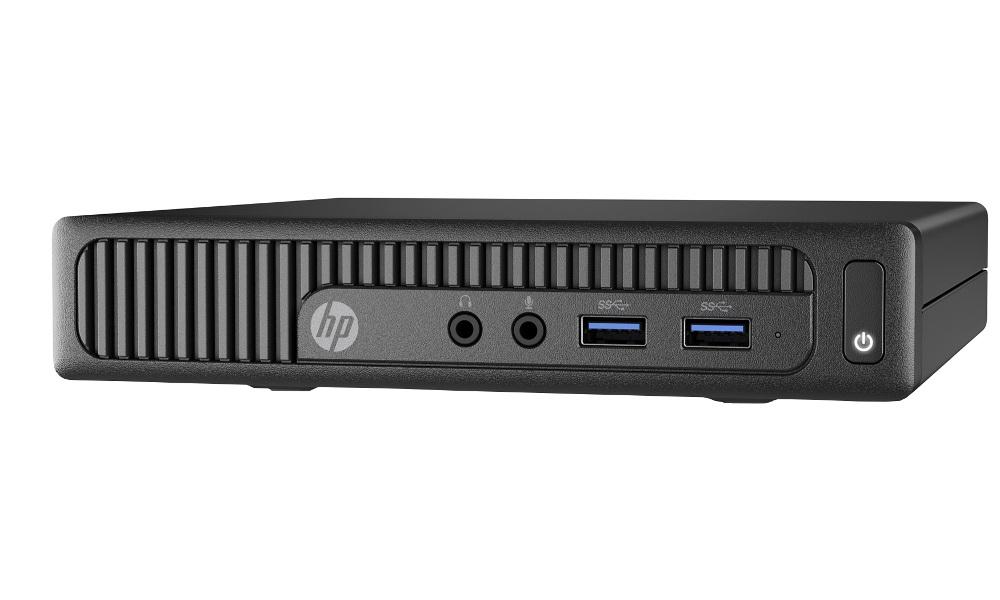 Неттоп HP 260 G2 DM X3K41ES (Intel Core i3-6100U 2.3 GHz/4096Mb/128Gb SSD/No ODD/Intel HD Graphics/LAN/Windows 10) от Pleer