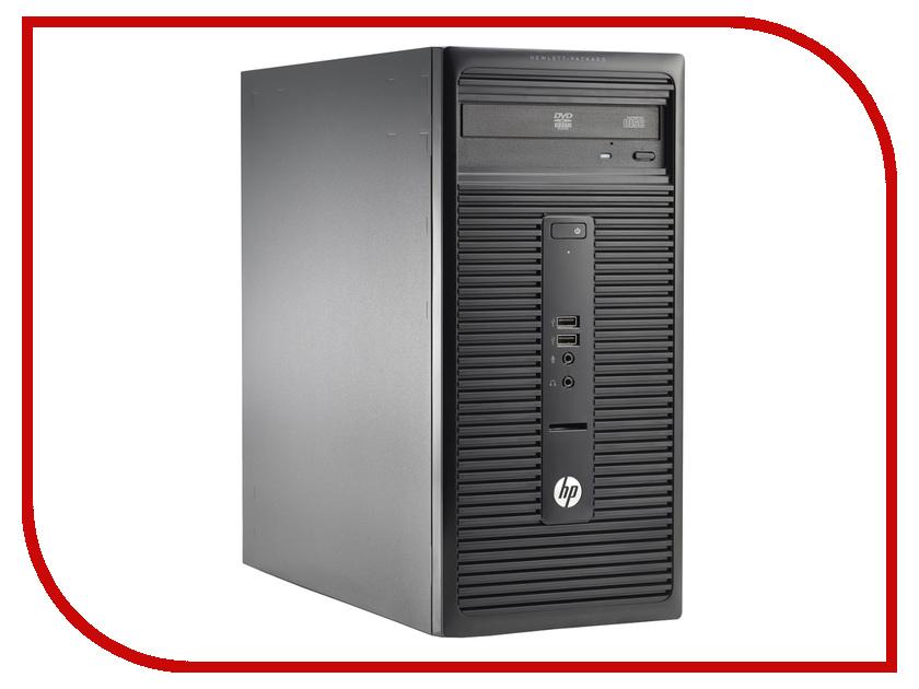 Неттоп HP 280 G1 Microtower N9E67EA (Intel Celeron G1840 2.8 GHz/4096Mb/500Gb/DVD-RW/Intel HD Graphics/LAN/Windows 10)<br>