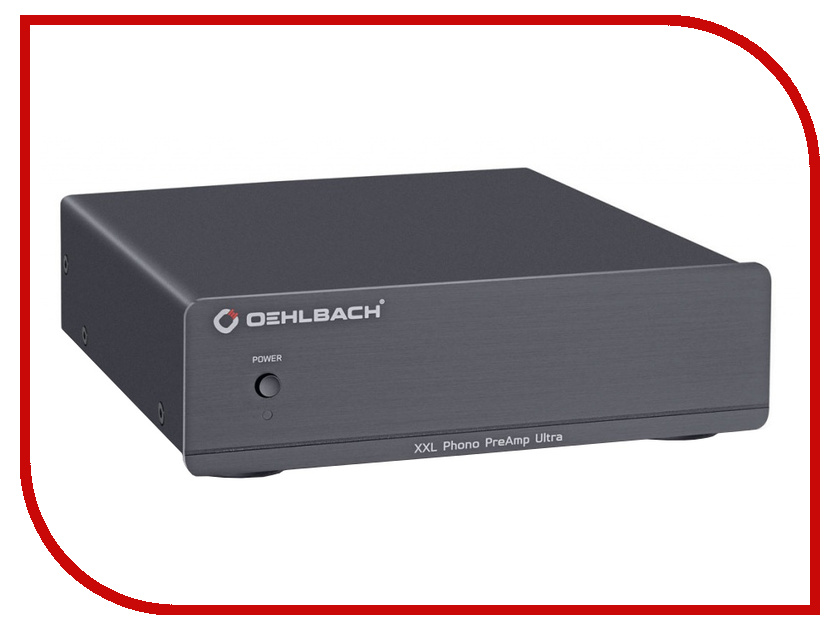 Фонокорректор Oehlbach XXL Phono PreAmp Ultra ММ/МС Black 13902