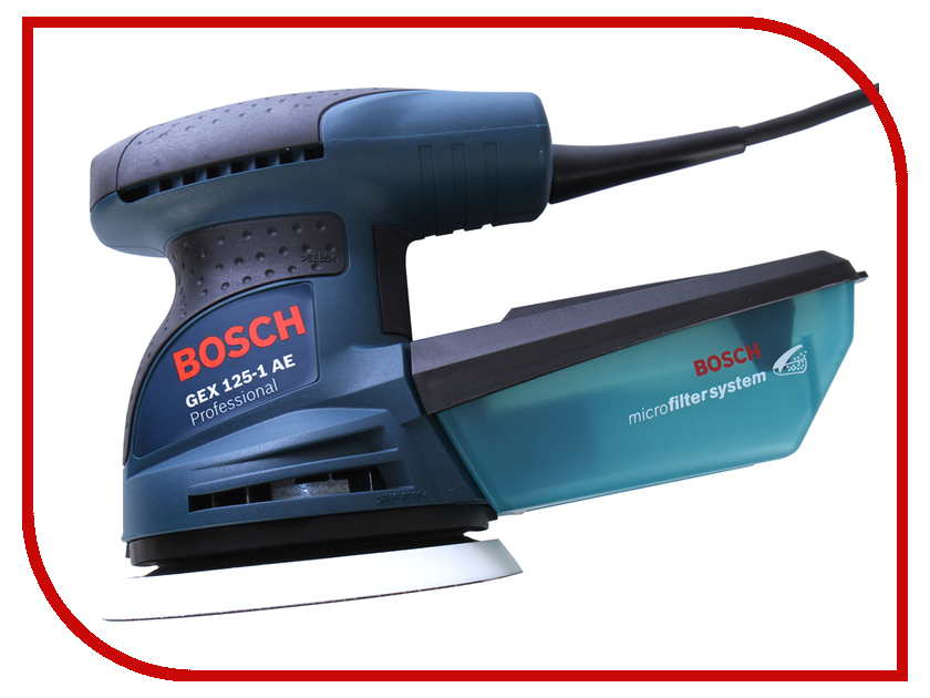 Шлифовальная машина Bosch GEX 125-1 AE 0601387501<br>