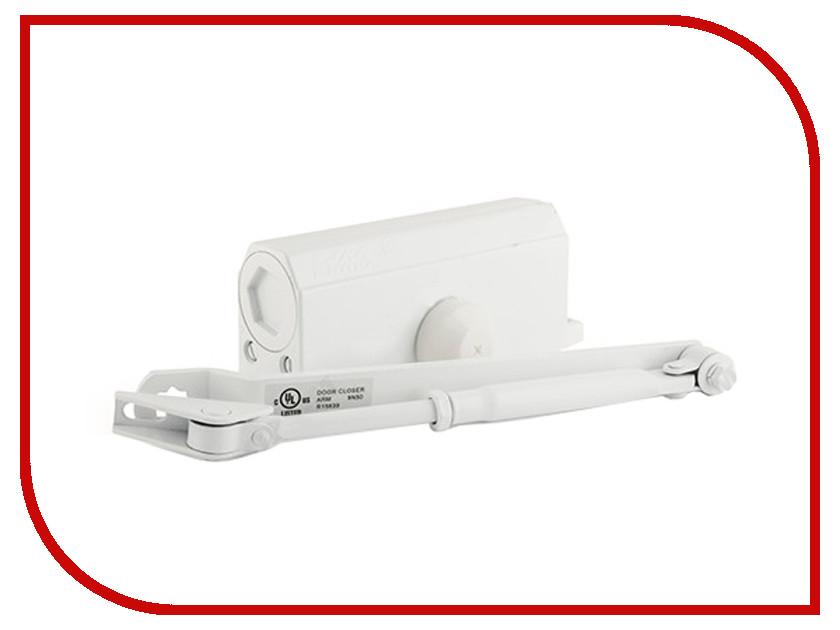 Доводчик дверной Нора-М №3S 80кг White 4994<br>