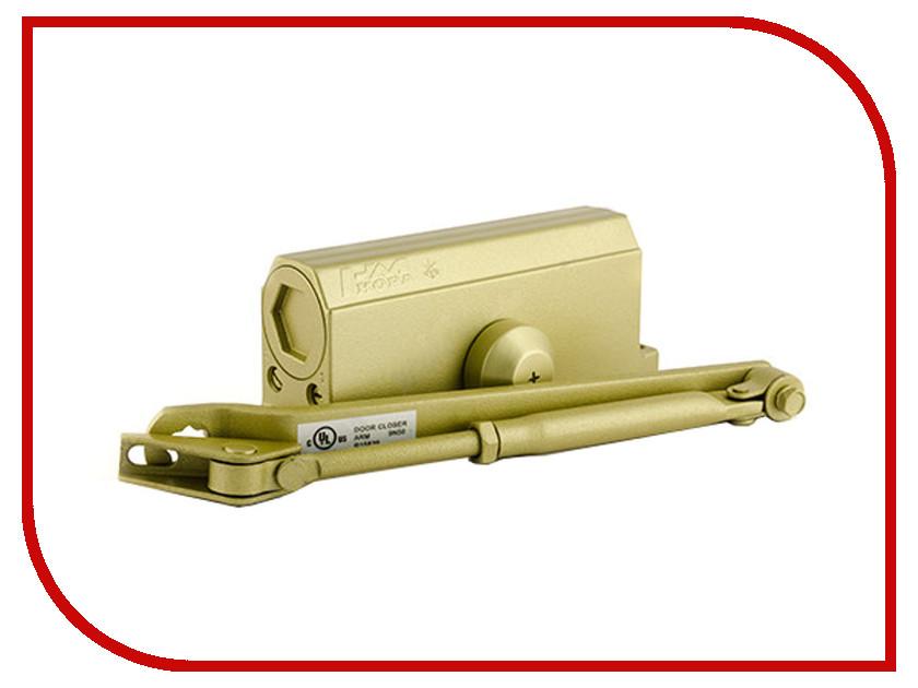 Доводчик дверной Нора-М №3S 80кг Gold 4996<br>