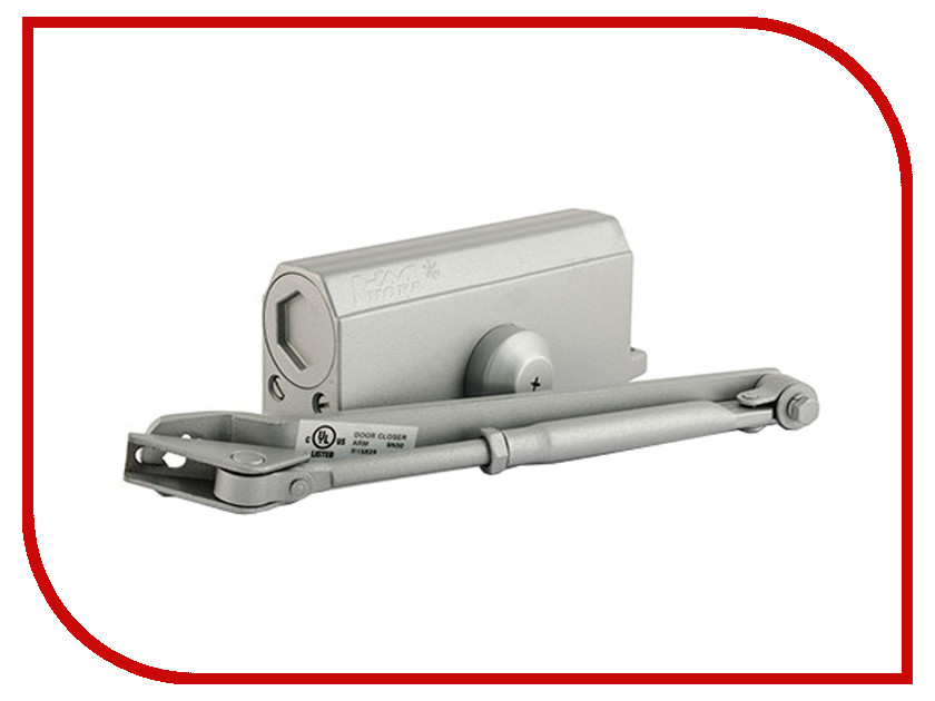 Доводчик дверной Нора-М №3S 80кг Grey 4997