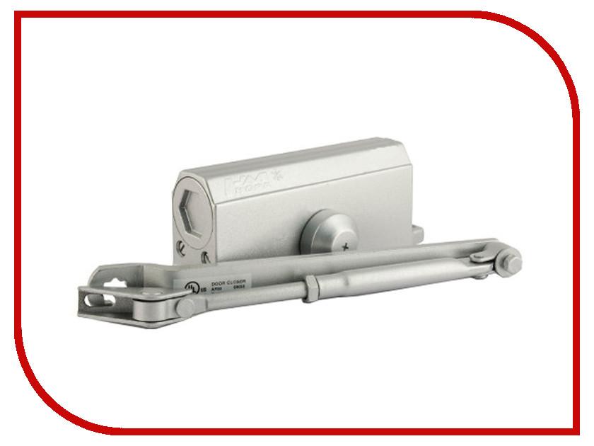 Доводчик дверной Нора-М №3S 80кг Silver 4998<br>