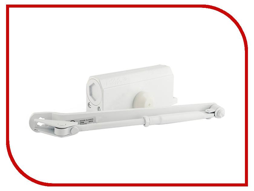 Доводчик дверной Нора-М №3S 80кг White 4989