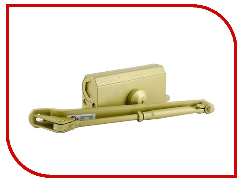 Доводчик дверной Нора-М №3S 80кг Gold 4991