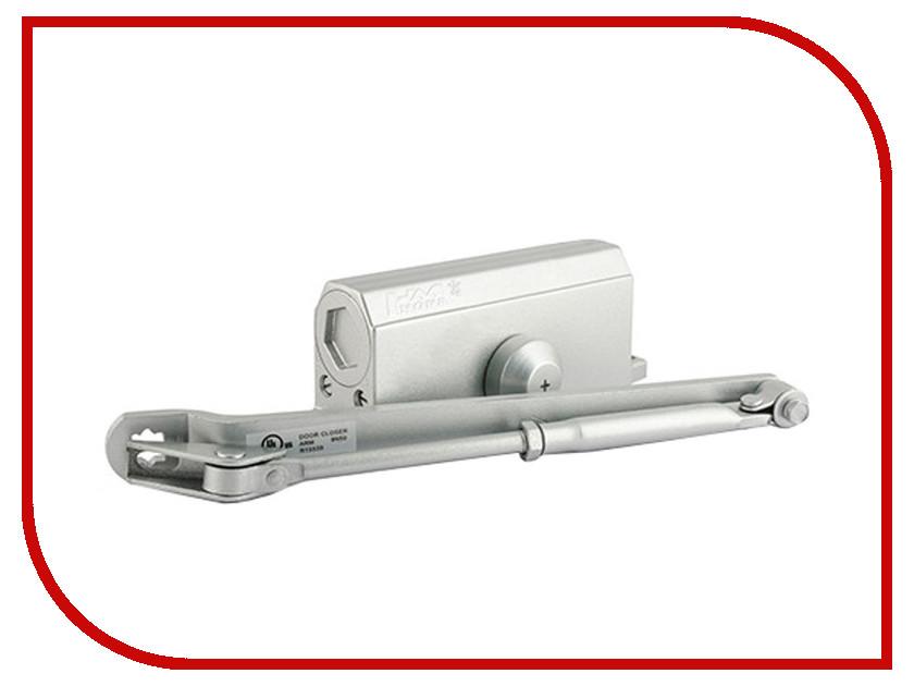 Доводчик дверной Нора-М №3S 80кг Silver 4993