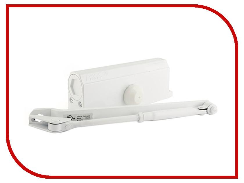 Доводчик дверной Нора-М №4S 120кг White 4999