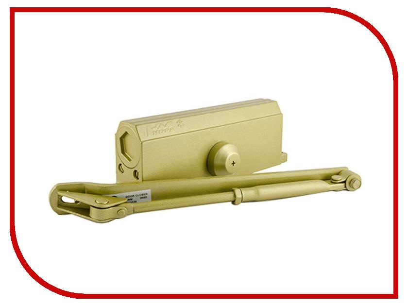 Доводчик дверной Нора-М №4S 120кг Gold 5001