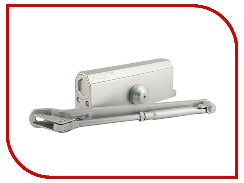 Доводчик дверной Нора-М №4S 120кг Silver 5003