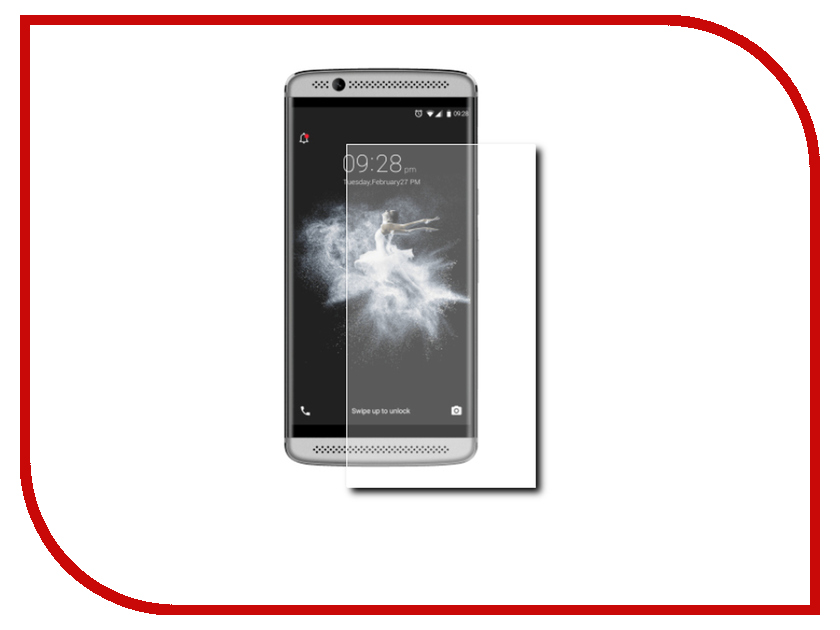 Аксессуар Защитное стекло ZTE Axon 7 Onext 41184 защитное стекло onext для apple iphone 7 plus глянцевое
