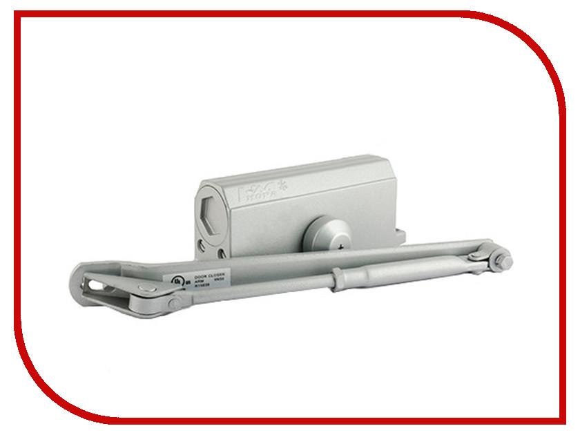 Доводчик дверной Нора-М №3S F 80кг Grey 13721