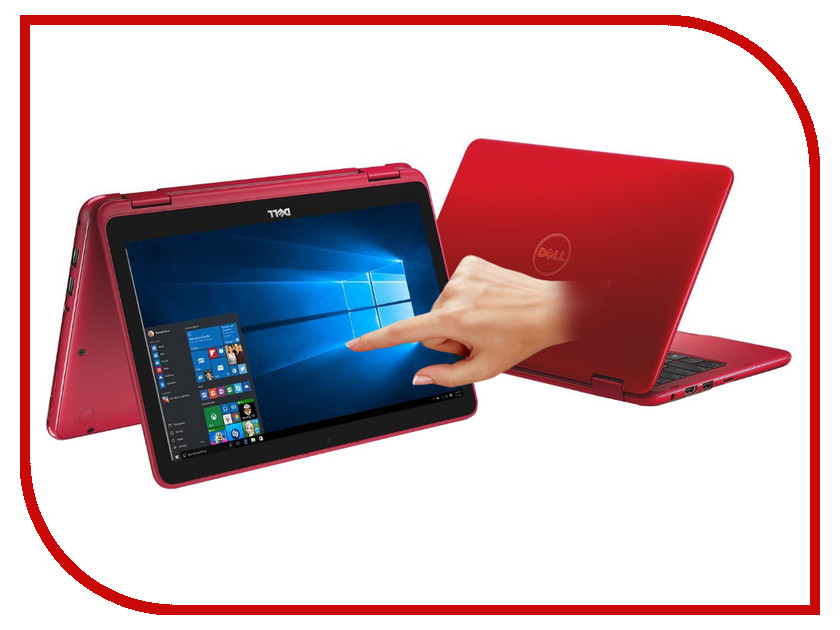 Ноутбук Dell Inspiron 3168-5407 (Intel Pentium N3710 1.6 GHz/4096Mb/500Gb/no ODD/Intel HD Graphics/Wi-Fi/Bluetooth/Cam/1366x768/Touchscreen/Windows 10) dell inspiron 3558