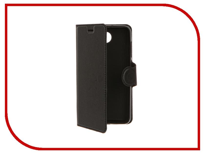 Аксессуар Чехол Huawei Honor 5A/Y6II Compact LYO-L21 Red Line Book Type Black<br>