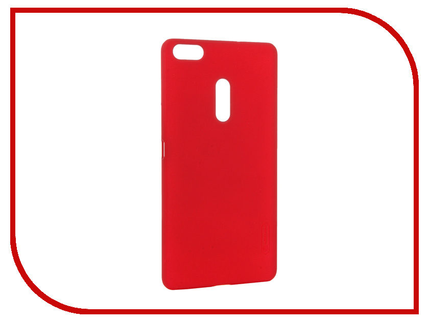 Аксессуар Чехол ASUS ZenFone 3 Ultra ZU680KL Nillkin Frosted Shield Red 12364 аксессуар чехол asus zenfone 3 ze552kl nillkin frosted shield red 12374