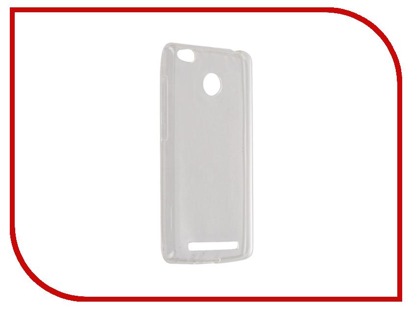 Аксессуар Чехол Xiaomi Redmi 3/3s/3 Pro iBox Crystal Transparent аксессуар чехол xiaomi redmi 3 3 pro ibox crystal grey