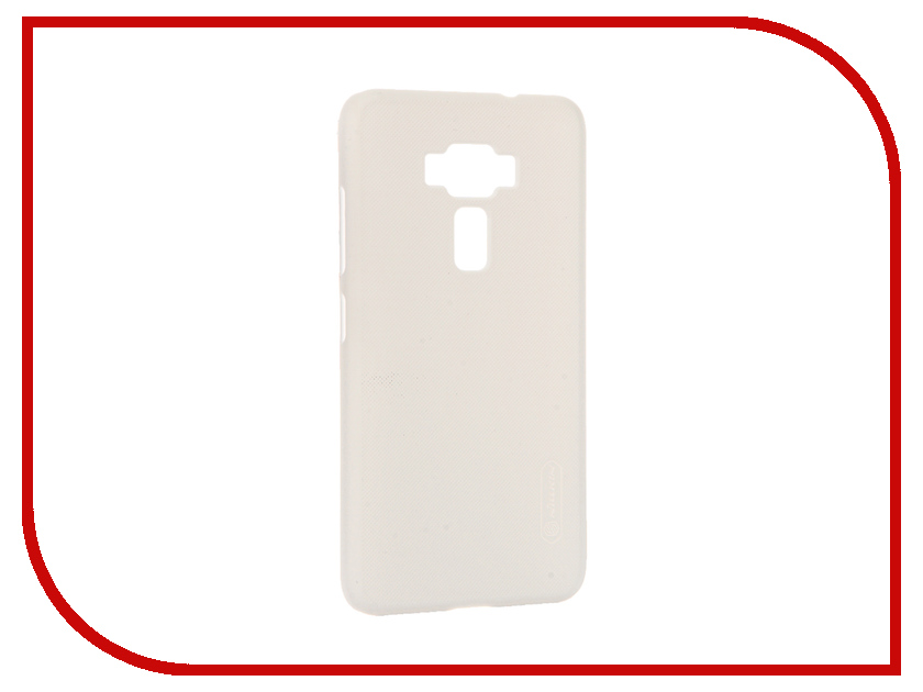 Аксессуар Чехол ASUS ZenFone 3 ZE520KL Nillkin Frosted Shield White 12366<br>