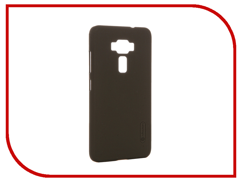 Аксессуар Чехол ASUS ZenFone 3 ZE520KL Nillkin Frosted Shield Brown 12368<br>