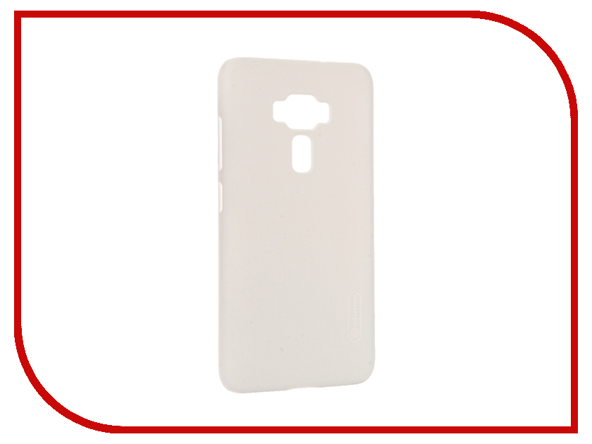 Аксессуар Чехол ASUS ZenFone 3 ZE552KL Nillkin Frosted Shield White 12371<br>