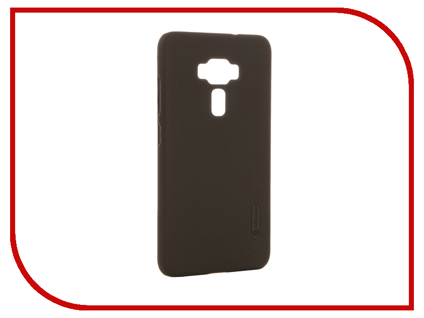 Аксессуар Чехол ASUS ZenFone 3 ZE552KL Nillkin Frosted Shield Brown 12373<br>