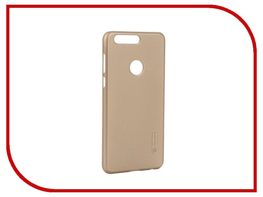 Аксессуар Чехол Huawei Honor 8 Nillkin Frosted Shield Gold 12377<br>
