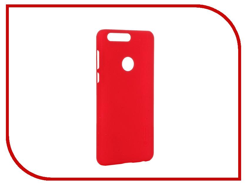 Аксессуар Чехол Huawei Honor 8 Nillkin Frosted Shield Red 12378<br>