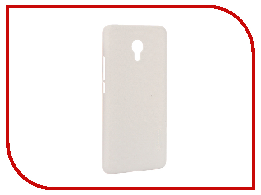 Аксессуар Чехол Meizu MX6 Nillkin Frosted Shield White 12381<br>