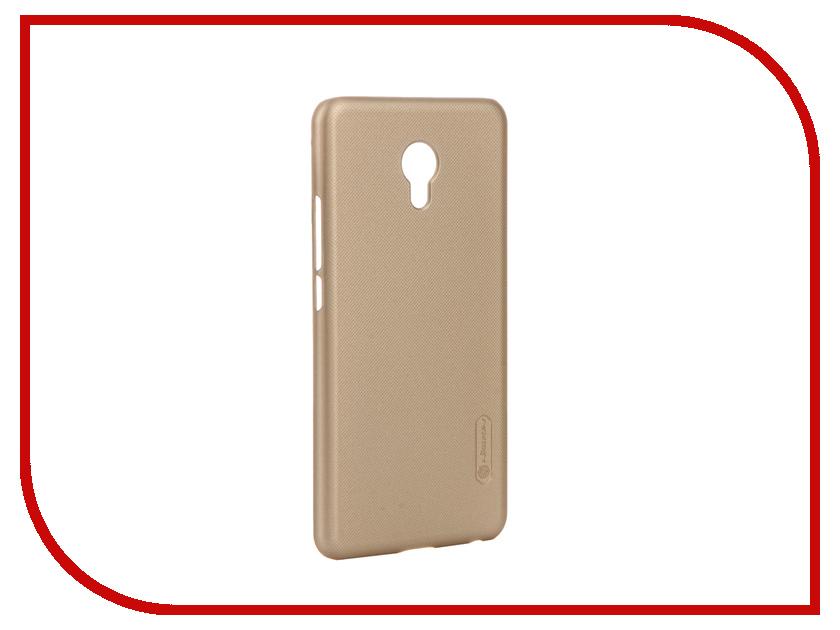 Аксессуар Чехол Meizu MX6 Nillkin Frosted Shield Gold 12382<br>