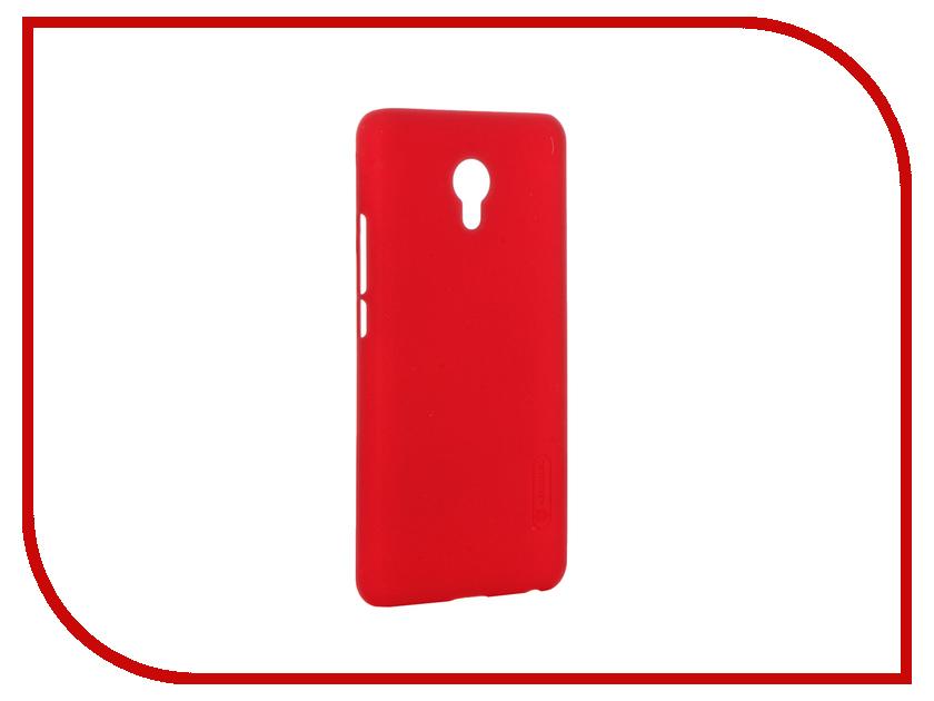 Аксессуар Чехол Meizu MX6 Nillkin Frosted Shield Red 12383<br>