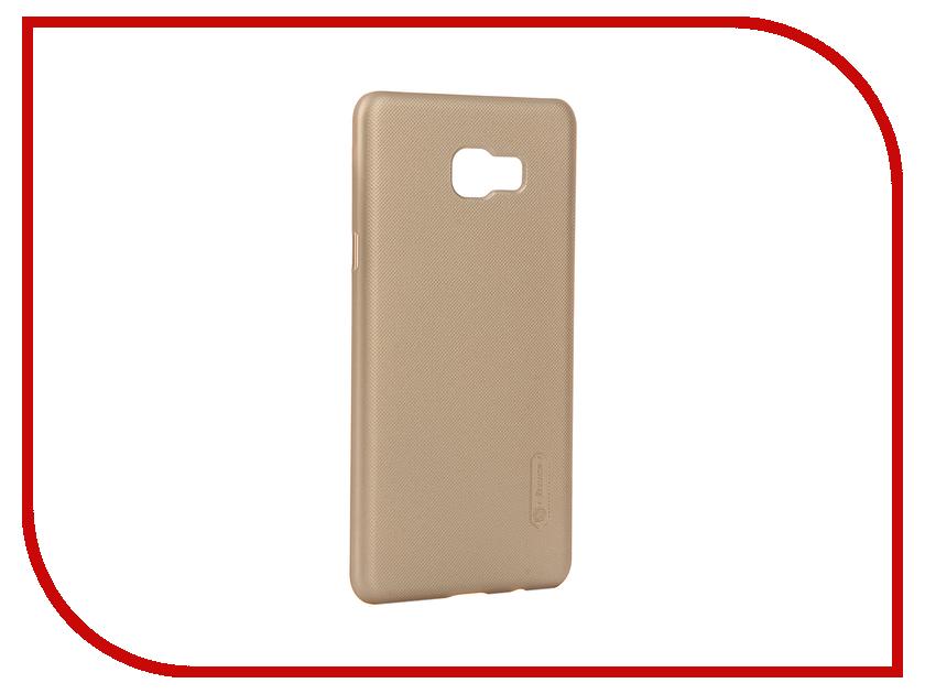 Аксессуар Чехол Samsung Galaxy C7 Nillkin Frosted Shield Gold 12386<br>