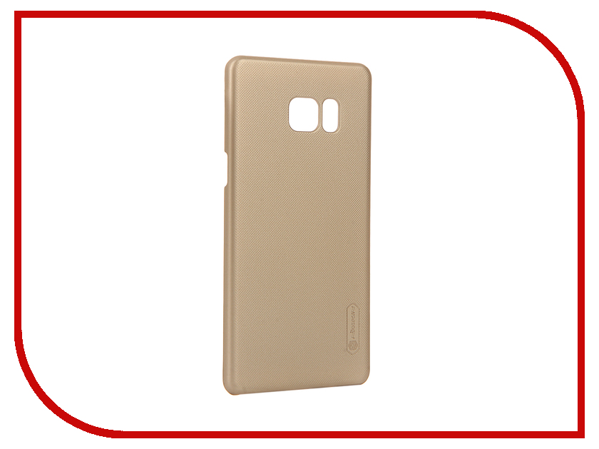 Аксессуар Чехол Samsung Galaxy Note 7 Nillkin Frosted Shield Gold 12390<br>