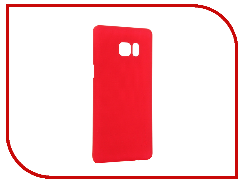 Аксессуар Чехол Samsung Galaxy Note 7 Nillkin Frosted Shield Red 12391