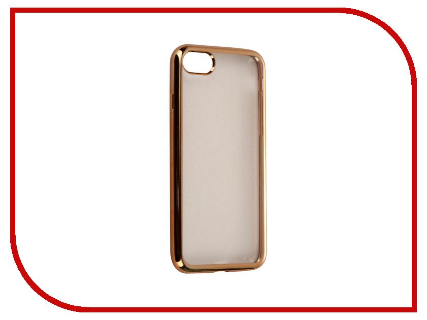 Аксессуар Чехол-накладка Gecko для APPLE iPhone 7 силиконовый Gold SR-G-IP7-GOLD<br>