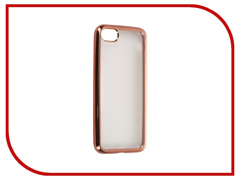 Аксессуар Чехол-накладка Gecko для APPLE iPhone 7 силиконовый Pink SR-G-IP7-PINK<br>
