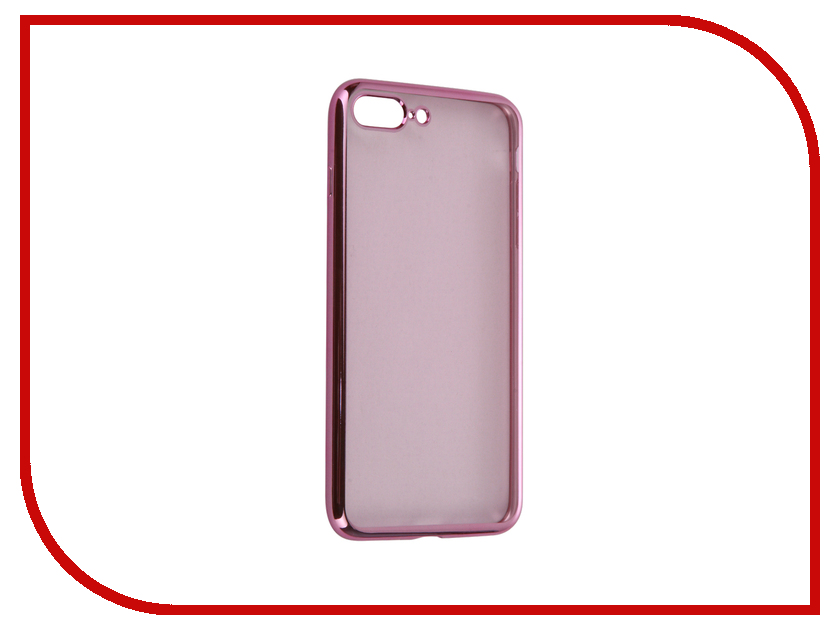 Аксессуар Чехол-накладка Gecko для APPLE iPhone 7 Plus силиконовый Pink SR-G-IP7PL-PINK<br>