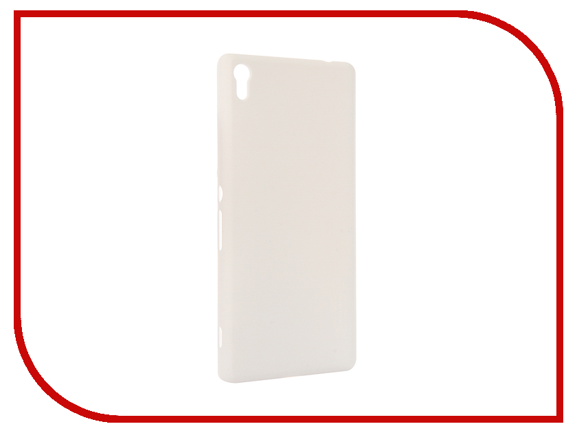 Аксессуар Чехол Sony Xperia XA Ultra Nillkin Frosted Shield White 12393<br>