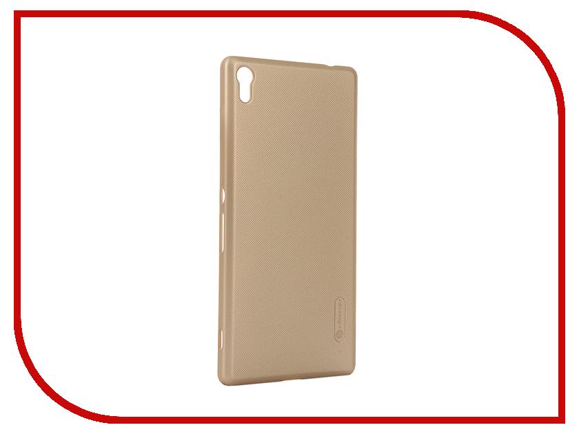 Аксессуар Чехол Sony Xperia XA Ultra Nillkin Frosted Shield Gold 12394<br>