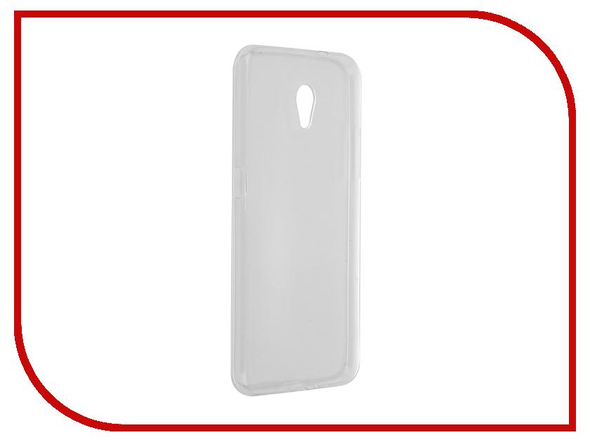 Аксессуар Чехол-накладка ZTE Blade V7 Gecko Transparent S-G-ZTEV7-WH цена и фото