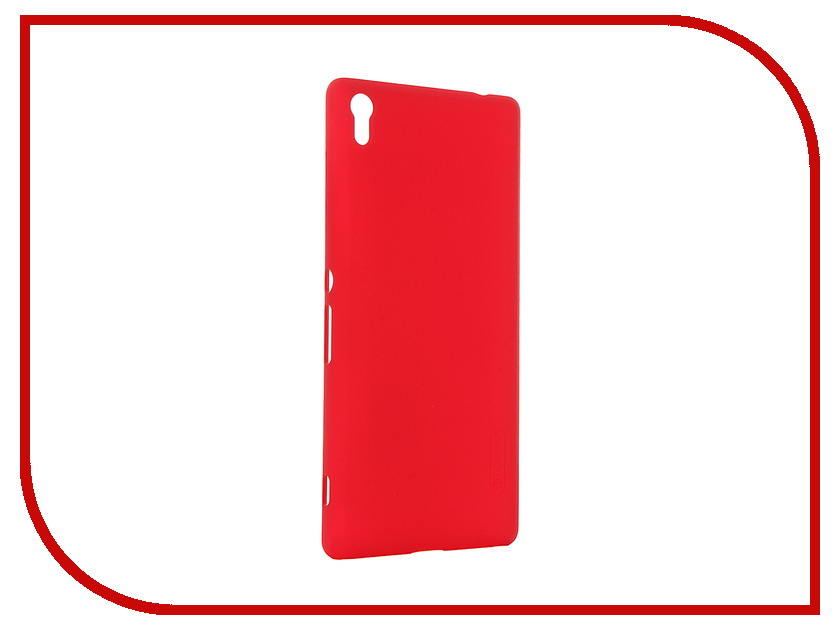 Аксессуар Чехол Sony Xperia XA Ultra Nillkin Frosted Shield Red 12395<br>