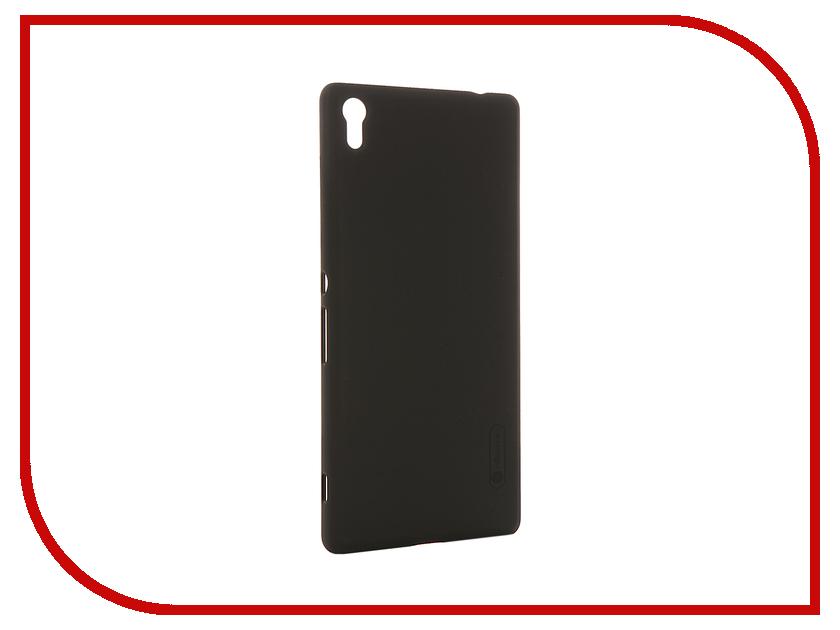 Аксессуар Чехол Sony Xperia XA Ultra Nillkin Frosted Shield Black 12396<br>