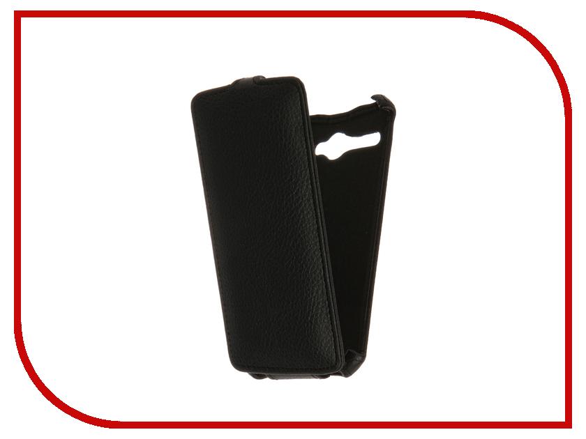 Аксессуар Чехол Fly FS506 Cirrus 3 Gecko Black GG-F-FLYFS506-BL смартфон fly fs506 cirrus 3 black