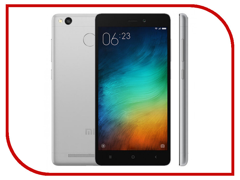 Сотовый телефон Xiaomi Redmi 3S 16Gb Silver<br>