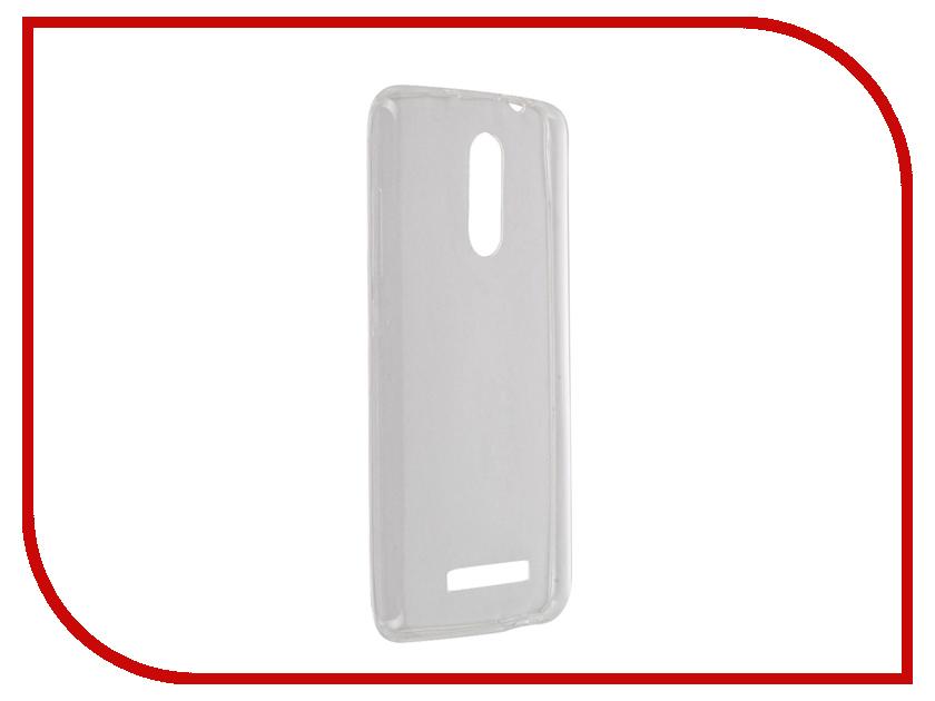 Аксессуар Чехол Xiaomi Redmi Note 3 BROSCO Transparent XM-RN3-TPU-TRANSPARENT<br>