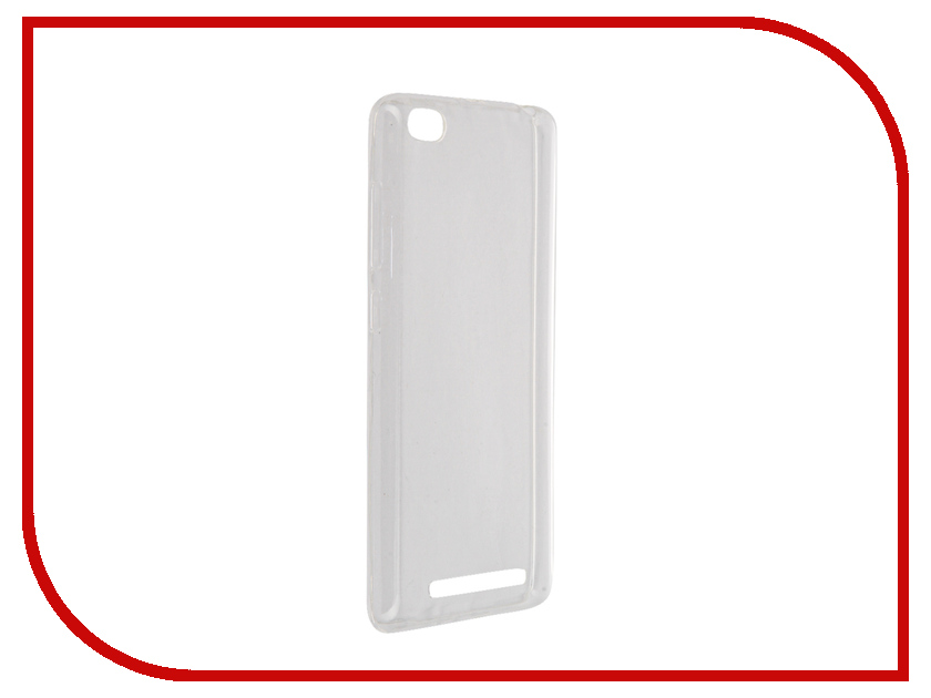 Аксессуар Чехол Xiaomi Redmi 3 BROSCO Transparent XM-R3-TPU-TRANSPARENT